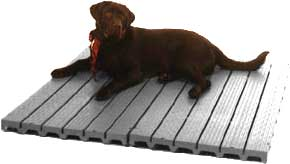 best flooring options for dog kennels