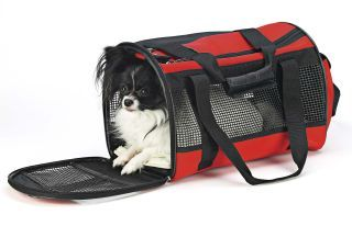 Travel Gear Front Pouch Carrier -Red