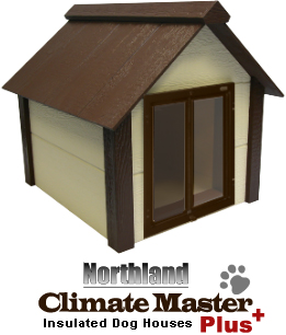 Insulated Dog House With Door  sc 1 st  Kennel Deck & Kennel Deck :: Dog Houses :: Insulated Dog House With Door