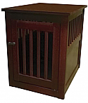 Dynamic Accents Large End Table Crate - Mahogany