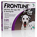 Frontline Plus Dog 45 to 88lbs