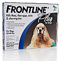 Frontline Plus Dog 23 to 44lbs