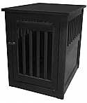 Dynamic Accents Medium End Table Crate - Antique Black