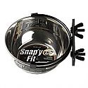 Snap'y Fit Stainless Steel Dog Bowl