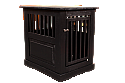 Dynamic Accents Fortress End Table Pet Crate Medium - Black