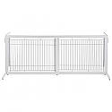 Freestanding Pet Gate Autumn - Low Height - White